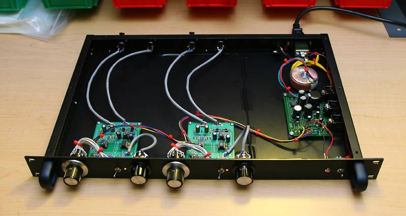Mic Preamp Kit - Electronics DIY Projects PCB